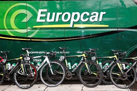 Компания Europcar в конце 2015 года прекращает спонсировать велокоманду