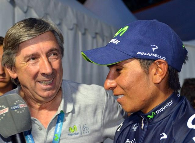 Эусебио Унсуэ и Наиро Кинтана, фото (с) Movistar