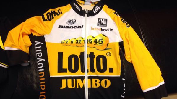 Команда LottoNL-Jumbo, бывшая Belkin, представила форму на 2015 год