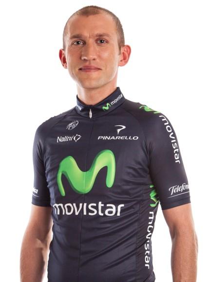 Сильвестр Шмыд, фото (с) Movistar Team