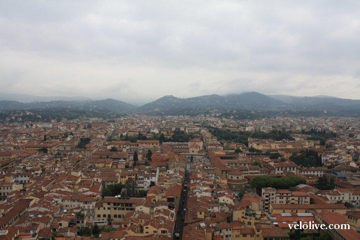 Вид на Флоренцию с купола собора