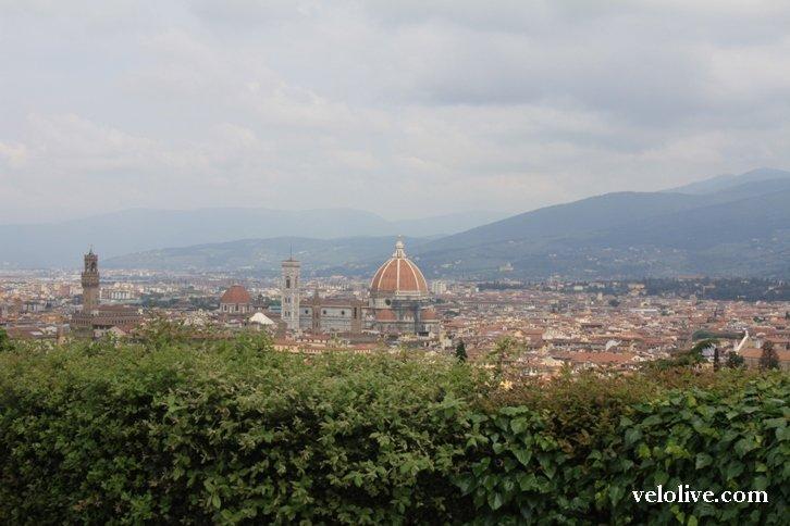 Вид на Флоренцию от Сан-Миниато аль Монте