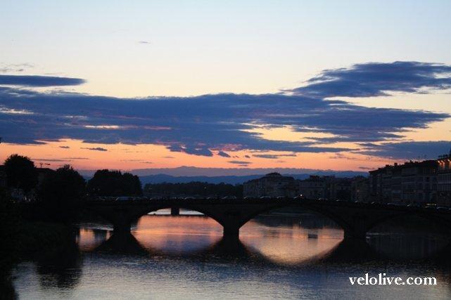 Вечерняя Флоренция...
