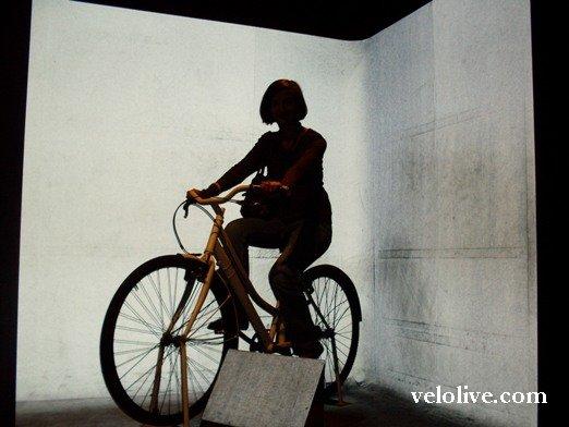 И в музее велосипеды!