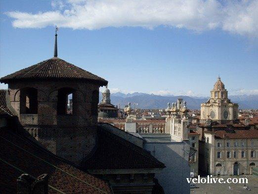 Вид с башни Палаццо Мадама