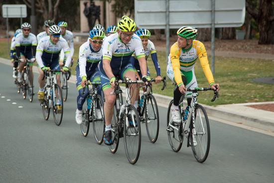 Премьер-министр Австралии с командой Orica-GreenEdge