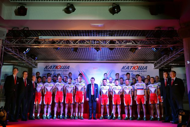 "Команда ""Катюша"", Photo: © Tim de Waele/TDW Sport/Katusha"