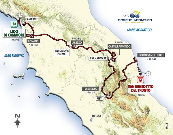 Тиррено-Адриатико (Tirreno-Adriatico)-2015