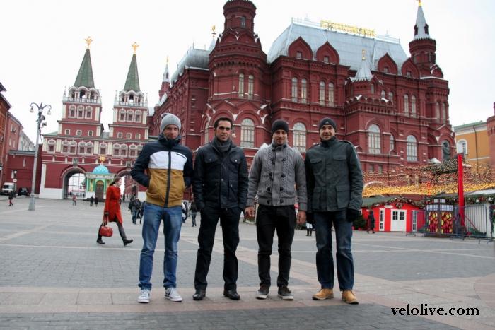 Презентация команды Tinkoff-Saxo: фоторепортаж Влада Богомолова