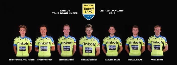 Павел Брутт дебютирует в составе Tinkoff-Saxo на Тур Даун Андер-2015