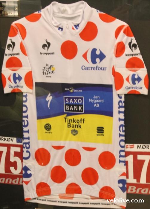Календарь Рафала Майки, Бьярне Риис о 4 майках Тур де Франс