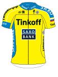 Команды ПроТура 2015: Team Tinkoff-Saxo (TCS) - RUS