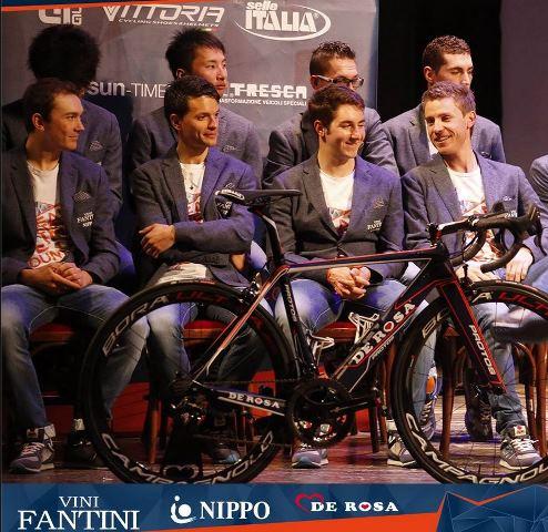 Презентация проконтинентальной команды NIPPO-Vini Fantini-De Rosa