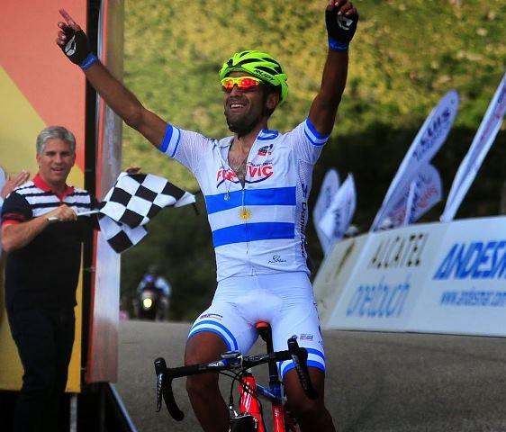 Даниэль Диас, победитель 2 этапа Тура Сан-Луиса-2015
