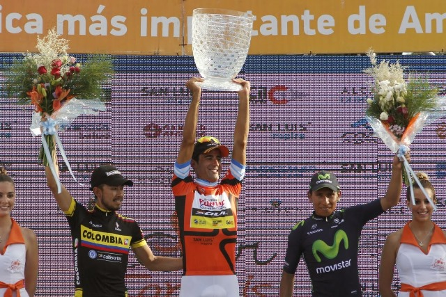 Аргентинец Даниэль Диас - победитель Тура Сан-Луис-2015