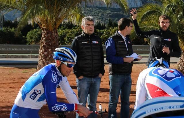 Марк Мадьо о планах команды FDJ в 2015 году и контрактах гонщиков