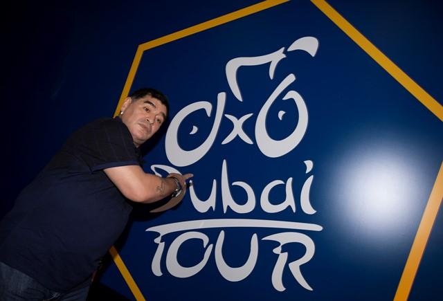 Диего Марадона на Туре Дубая-2015