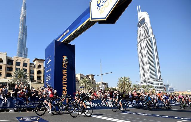 Вивиани, Лобато, Дегенкольб о 4-м этапе Тура Дубая-2015