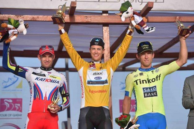 Александр Кристофф – бронзовый призер «Тура Катара»