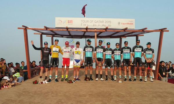 Ники Терпстра - победитель Тура Катара-2015