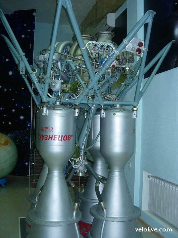 Ракетный двигатель Кузнецова, фото Лелетко Дмитрия