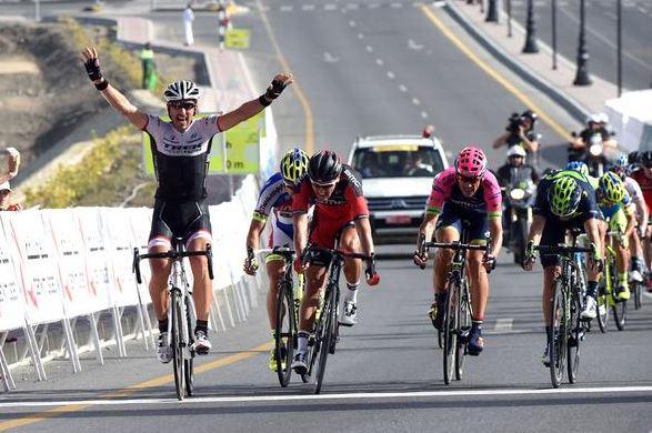 Фабиан Канчеллара на 2-м этапе Тура Омана-2015
