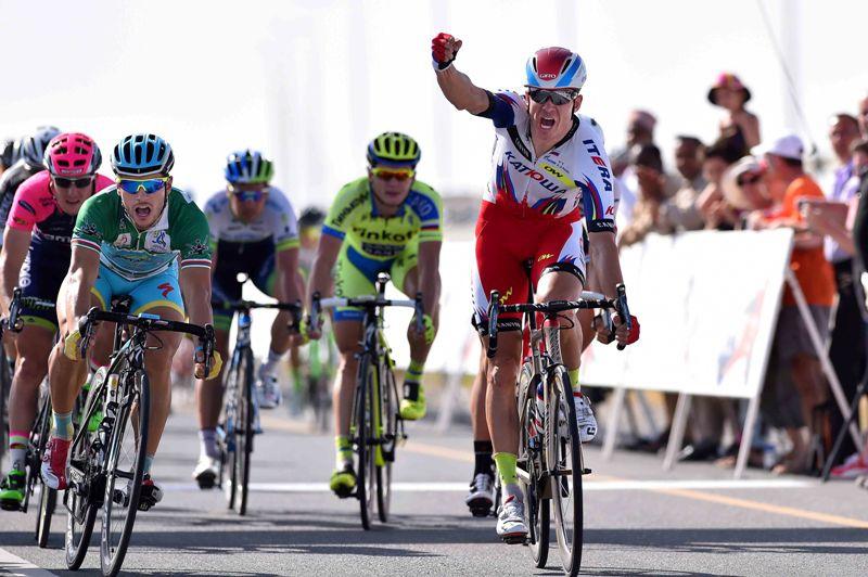 победный спринт Александра Кристоффа