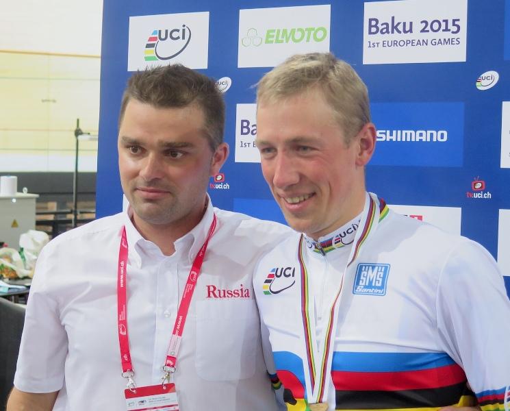 Артур Ершов - чемпион мира на треке