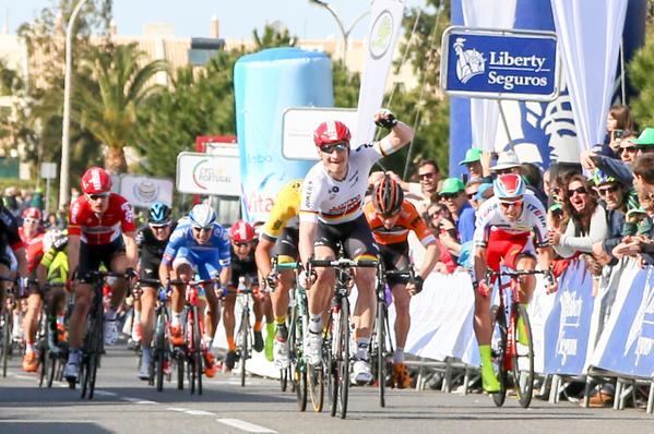 Первая победа Андре Грайпеля (Lotto Soudal) в сезоне 2015 года