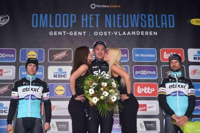 Боонен, Терпстра и Ванденберг о поражении на классике Omloop Het Nieuwsblad