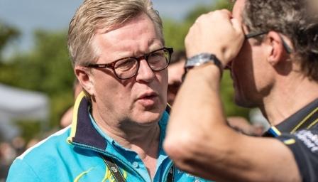 Доктор Йост де Мейсенир - главный врач велокоманды