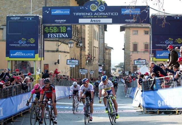Ван Авермат, Саган, Штыбар, Канчеллара о финише в Ареццо на Тиррено-Адриатико 2015