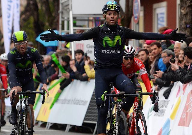 Алехандро Вальверде - победитель 2 этапа Вуэльты Каталонии-2015