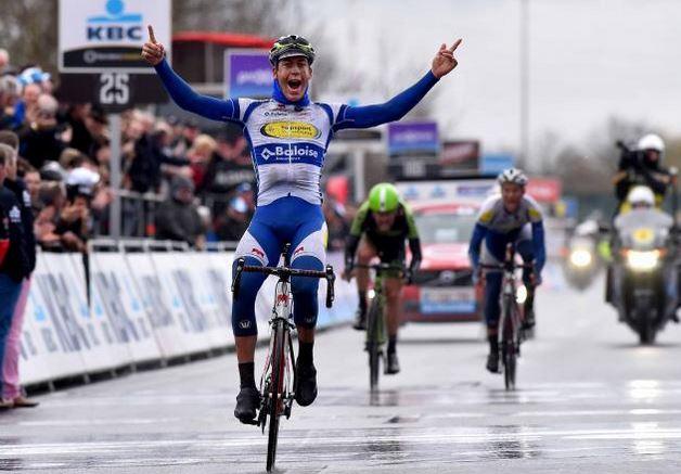 Йелле Валлайс - победителем Dwars door Vlaanderen-2015