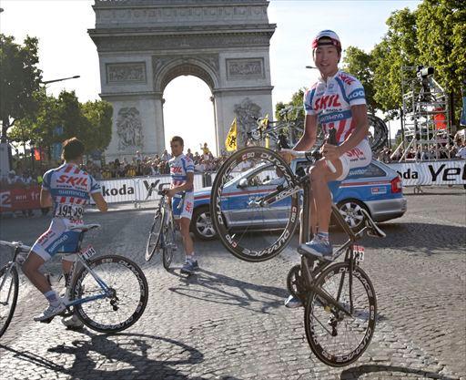 Покорить Мюр де Уи на заднем колесе велосипеда