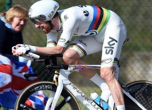 Чемпион мира Брэдли Уиггинс опередил чемпиона мира на треке Стефана Кюнга