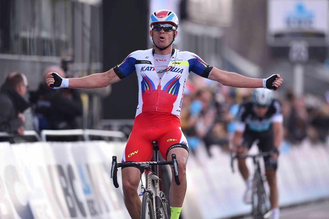 На фото (@Tim De Waele): момент триумфа Александра Кристоффа