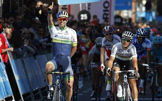 Майкл Мэттьюс - победитель 1-го этапа Тура Страны Басков-2015