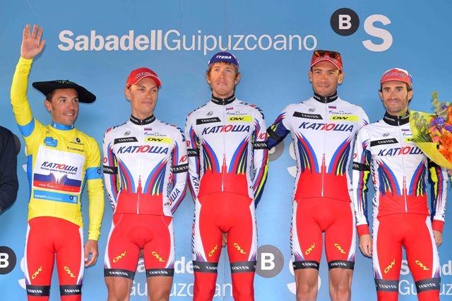 Хоаким Родригес и «Катюша» выигрывают «Тур Страны Басков»