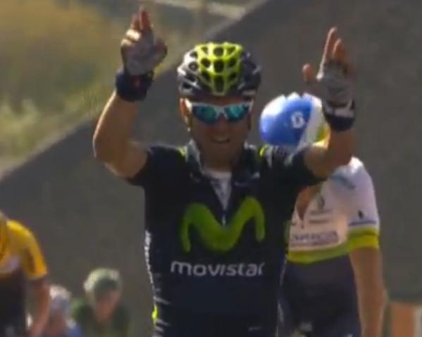 Алехандро Вальверде – победитель Флеш Валлонь-2015