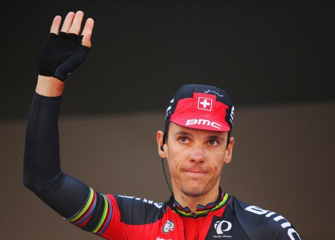 Филипп Жильбер (BMC) стартует на Льеж-Бастонь-Льеж-2015