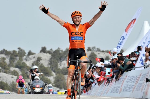 Давиде Ребеллин - победитель третьего этапа Тура Турции-2015