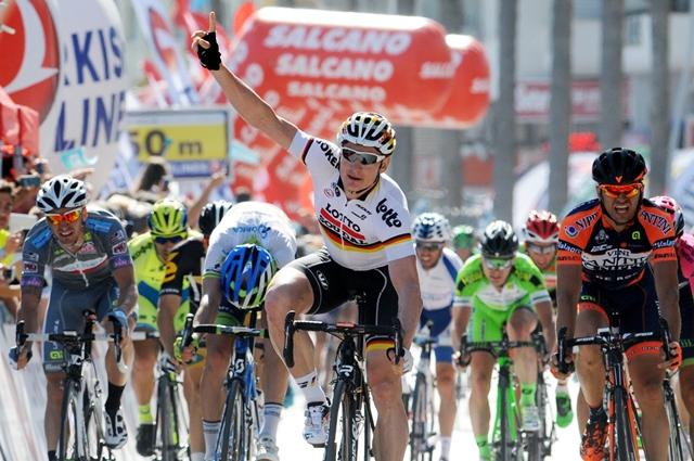 Андре Грайпель - победитель четвертого этапа Тура Турции-2015