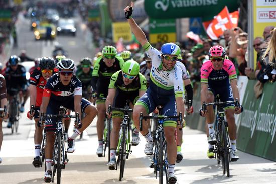 Михаэль Альбазини - победитель 2 этапа Тура Романдии-2015