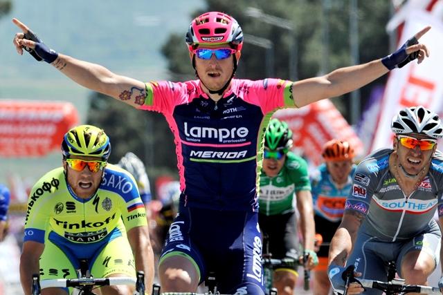 Саша Модоло - победитель 5 этапа Тура Турции-2015