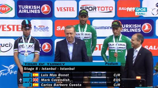 Луис Мас - победитель 8 этапа Тура Турции-2015