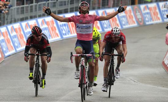 Состав команды Orica-GreenEDGE на Джиро д'Италия-2015