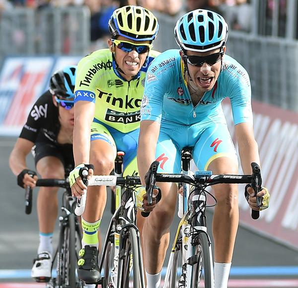 Альберто Контадор, Фабио Ару, Ричи Порт и Ригоберто Уран о 5-м этапе Джиро д'Италия-2015