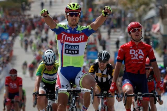 Петер Саган - победитель 4 этапа Тура Калифорнии-2015