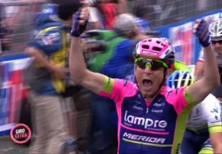 Диего Улисси – победитель 7 этапа Джиро д'Италия-2015